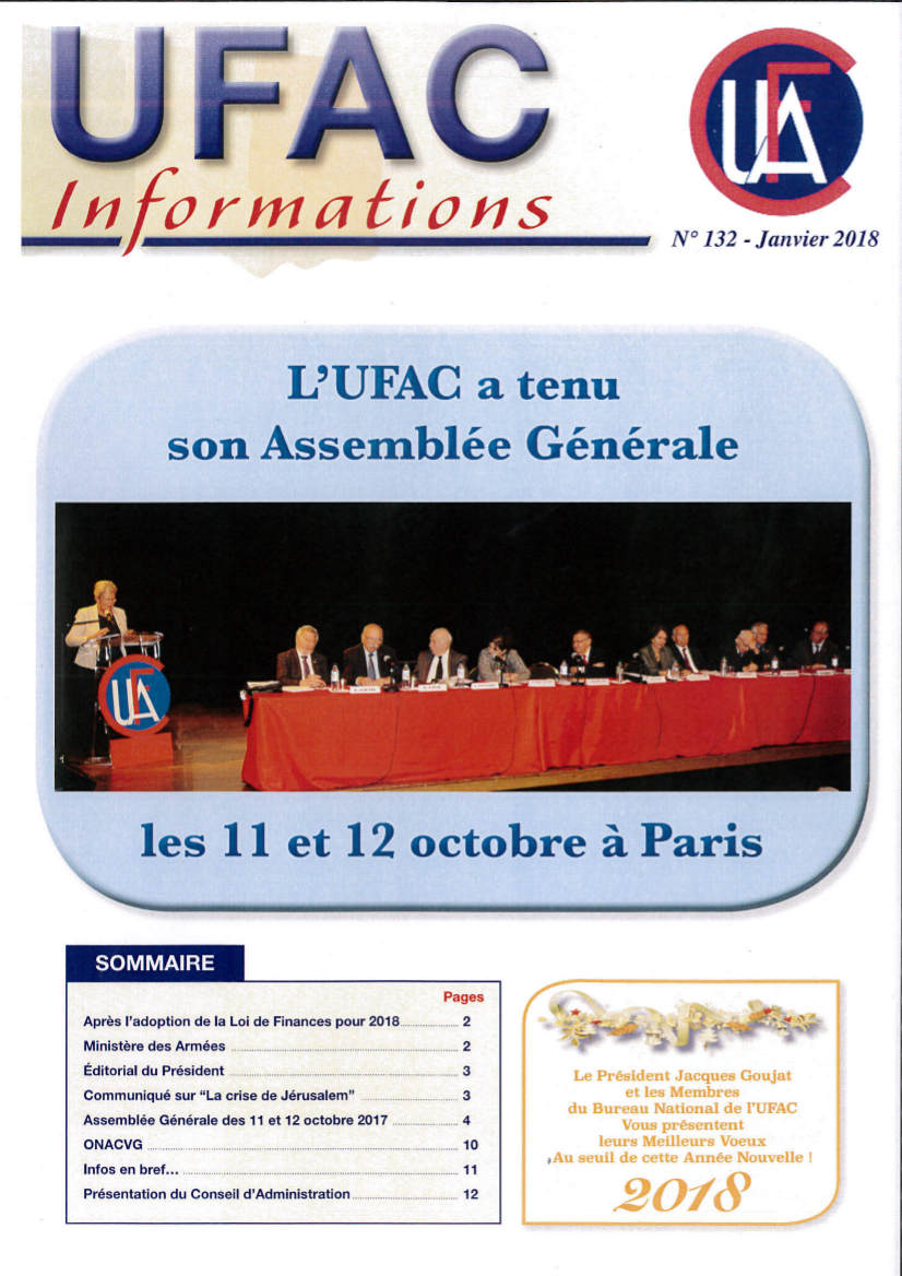 Couverture ufac infos 132